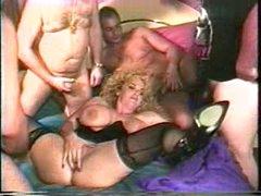 mature large tits gang bang 2