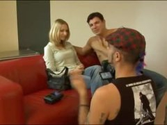 First timer does a casting couch episode