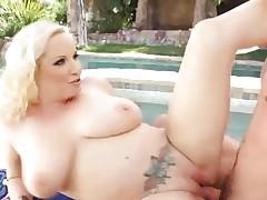Rampant Rachel Love enjoys a rough pussy pounding