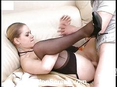 Susanna&Oscar nylon fucking action