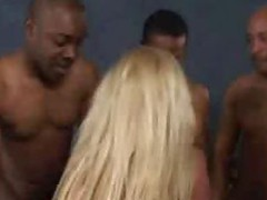 Alicia Interracial Blow Bang