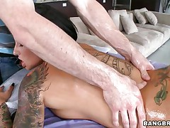 sexy christy mack can't live without wrapping her lips around a knob