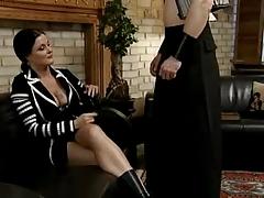 Busty Milf gets a huge cock